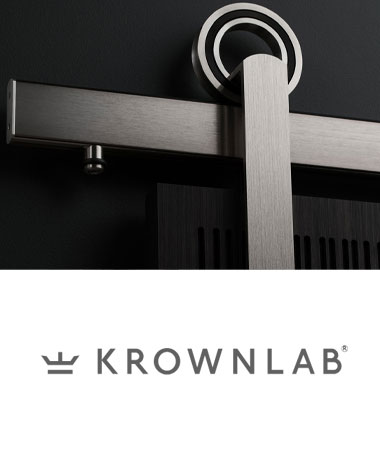 Krownlab Barn Door Hardware