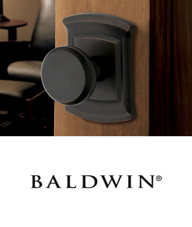 Baldwin Door Handles + Knobs + Levers