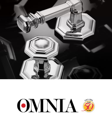 Omnia Door Handles + Knobs + Levers