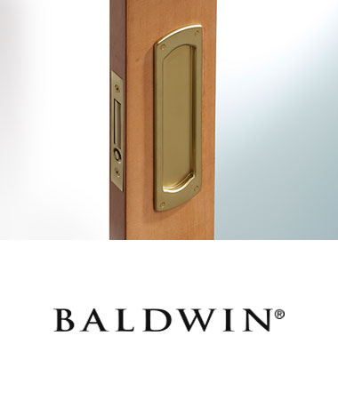 Baldwin Recessed Hardware