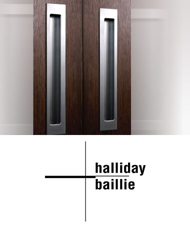 halliday bailllie Recessed Hardware