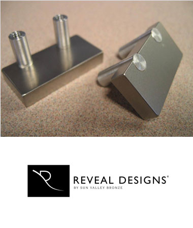 Reveal Designs Recessed Hardware