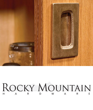 Rockymountain Recessed Hardware