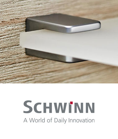 Schwinn Recessed Hardware