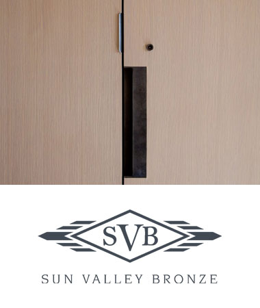 Sun Valley Bronze Recessed Hardware