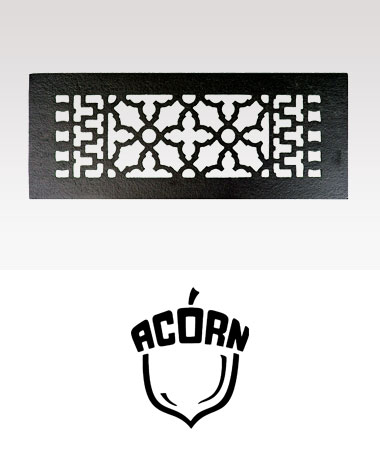 Acorn Vent Covers + Registers