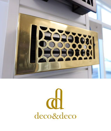 Deco & Deco Vent Covers + Registers