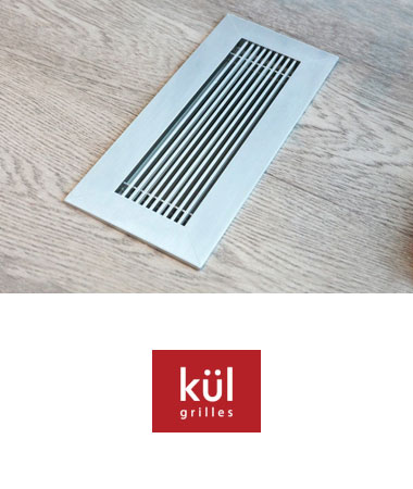 Kul Grilles Vent Covers + Registers